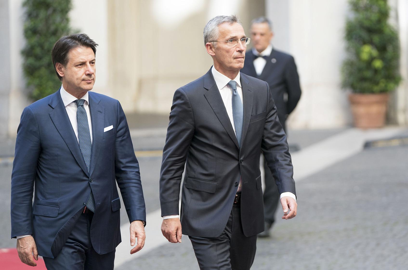 """SIRIA, CONTE """"PREOCCUPA L'AZIONE UNILATERALE DELLA TURCHIA"""""""