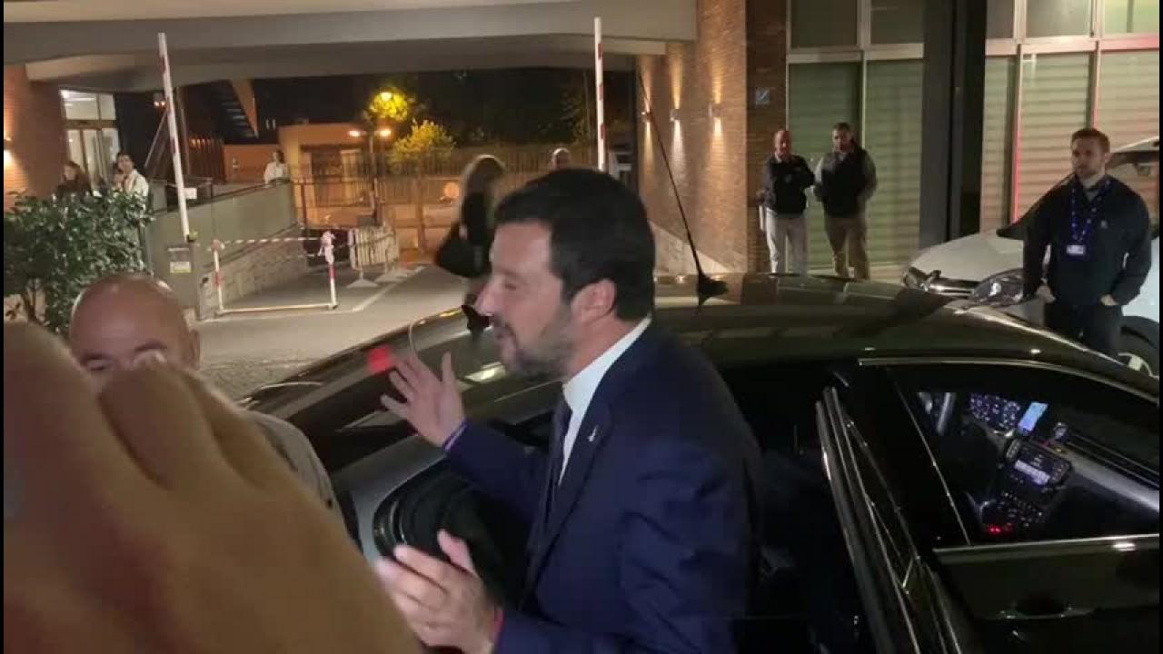 """Salvini """"Prossimo confronto tv con Conte"""""""