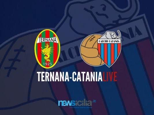Ternana-Catania 3-2: è finita. Rossazzurri volenterosi, ma sconfitti – RIVIVI LA CRONACA