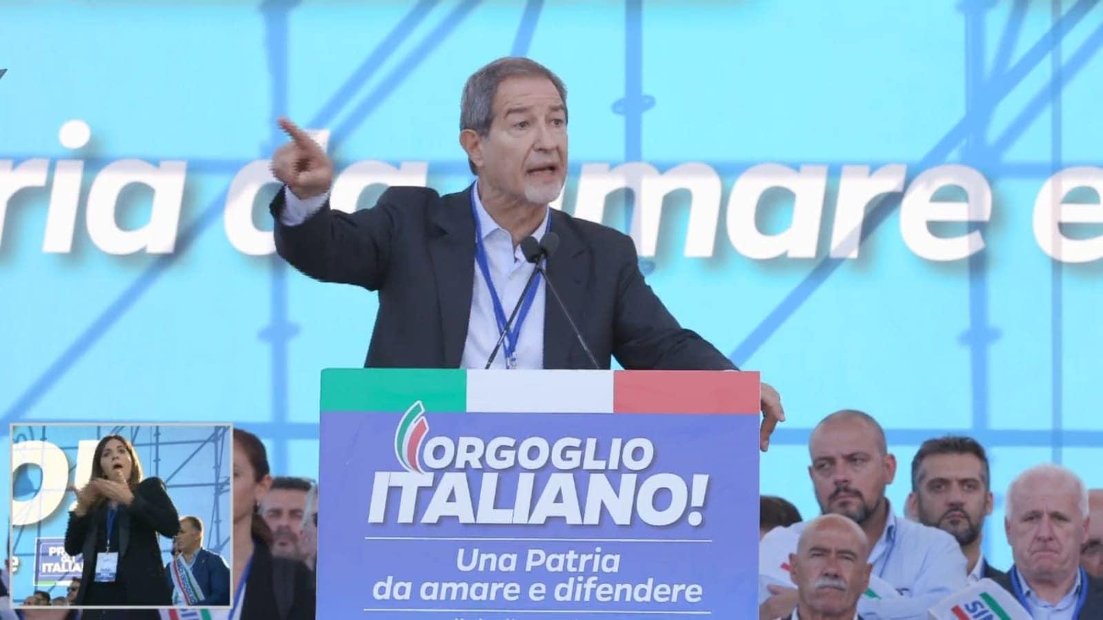 """Musumeci a Roma richiama il centrodestra all'unità: """"Guardiamo al futuro con rinnovata fiducia e senso di responsabilità"""""""