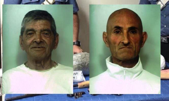 Trasporto di armi e droga tra Catania e Paternò: in manette due persone