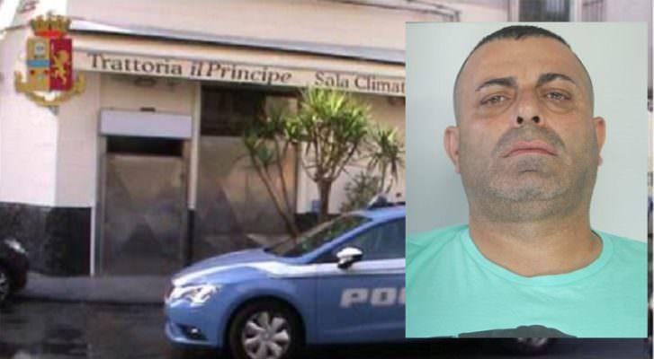 """Sequestrata la """"Trattoria del Principe"""" di Catania: arrestato """"Nino 'u Fungiutu"""", esponente del clan dei Cursoti"""
