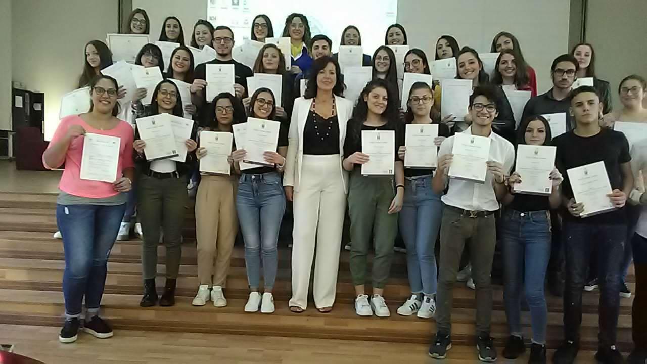 """Inaugurazione anno scolastico con premiazione all'I.I.S.S """"C. Gemmellaro"""" di Catania – FOTO"""