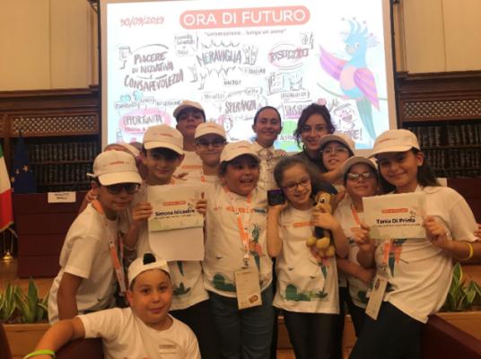 """Progetto """"Ora di futuro"""" per gli alunni dell'Istituto Comprensivo """"Fontanarossa"""" di Catania"""