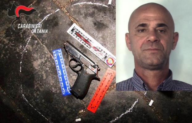 Spara alla coscia di un pregiudicato nel Catanese: arrestato il 54enne Alfio Pasqualino Leone
