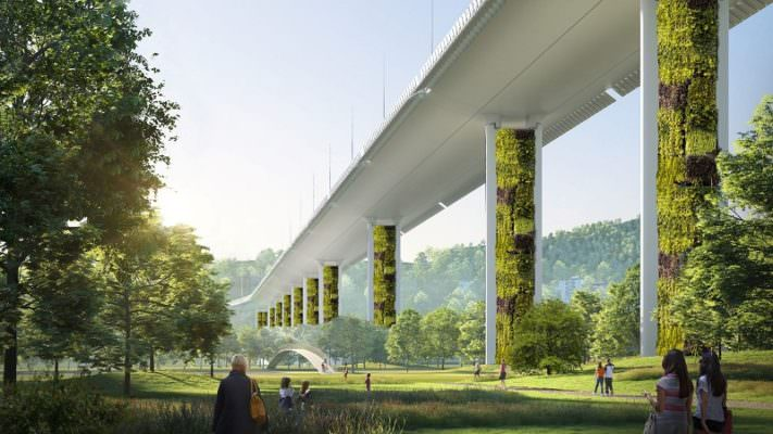 Nuovo ponte di Genova, da Catania la proposta per eliminare anidride carbonica