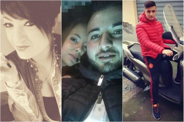 Strage nel Catanese, i volti delle vittime dell'incidente mortale sulla SS 121