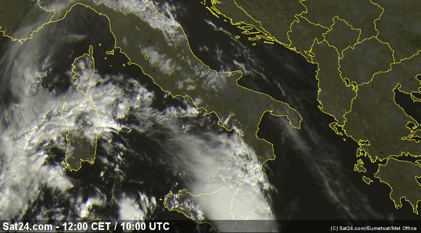 Allerta meteo rossa, bomba d'acqua in arrivo a Catania e Messina: attesi oltre 350mm di pioggia