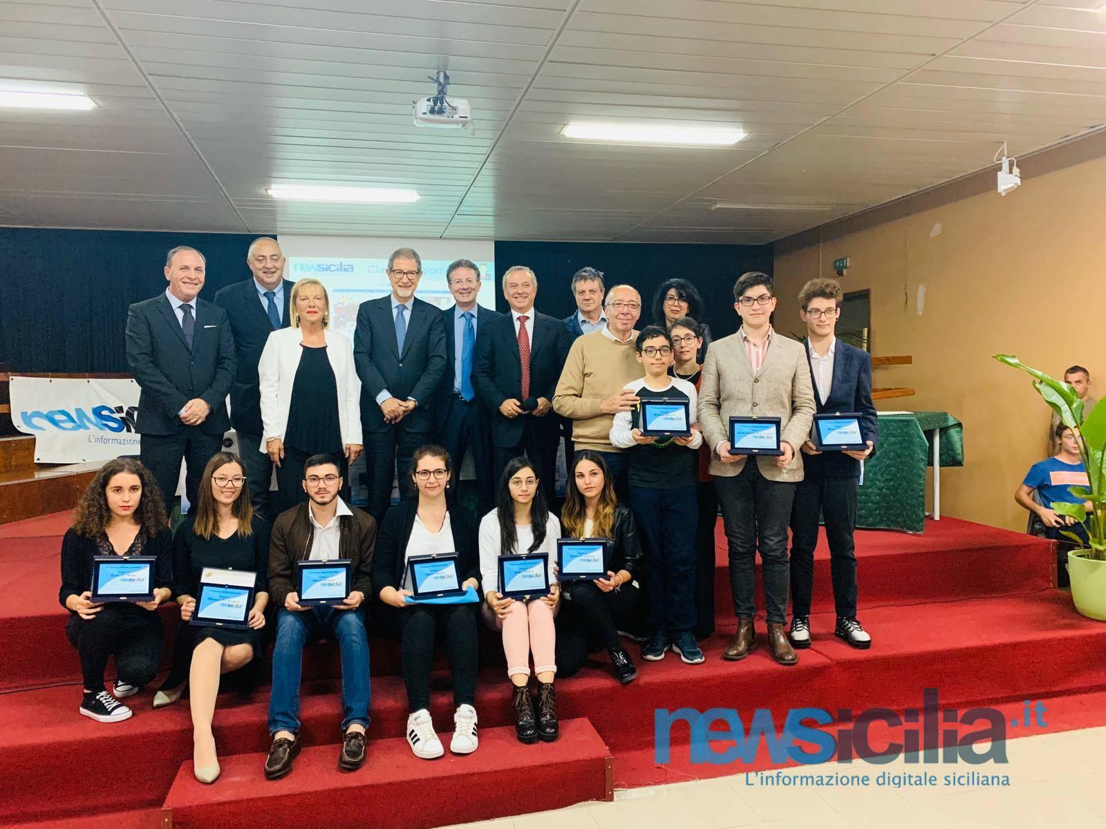 """NewSicilia.it in festa: premiati i vincitori del concorso """"Diventa Giornalista"""" – FOTO e IMMAGINI a 360°"""