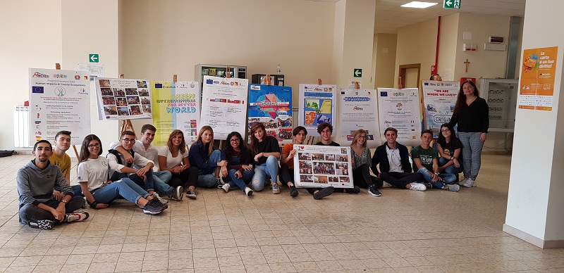 "#ERASMUSDAYS2019 all'I.I.S. ""Concetto Marchesi"" di Mascalucia"