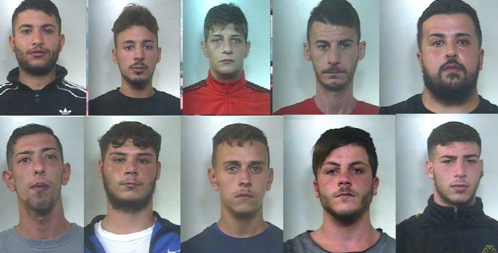 """Operazione """"Take and go"""", NOMI e FOTO degli arrestati"""