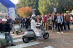 Vespa Piaggio sfilano al Festival dello sport di Trento