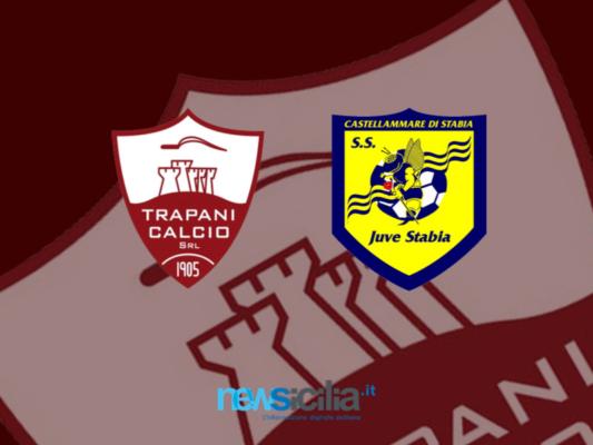 """Trapani-Juve Stabia 1-2, gelo al """"Provinciale"""": i granata si illudono con Taugourdeau e si fanno rimontare nel finale"""