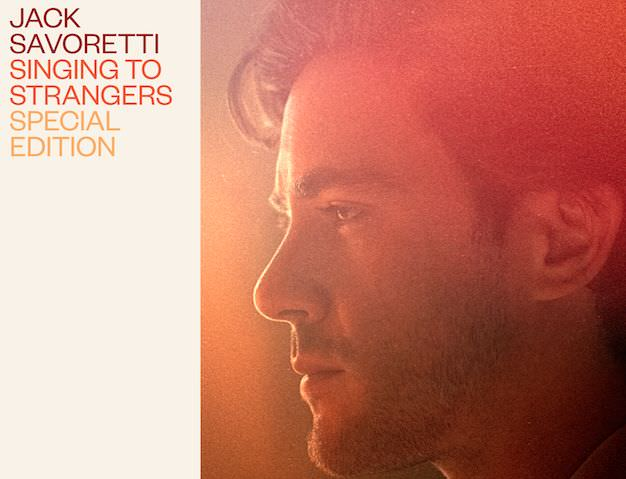 """JACK SAVORETTI, A DICEMBRE """"SINGING TO STRANGERS – SPECIAL EDITION"""""""