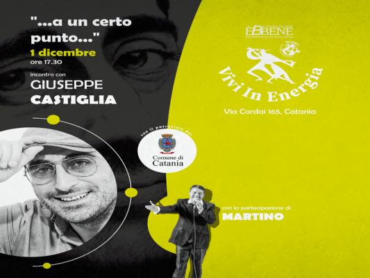 """""""A un certo punto"""", iniziativa per il quartiere San Cristoforo. Giuseppe Castiglia: """"I cittadini vogliono rigenerare la zona"""""""