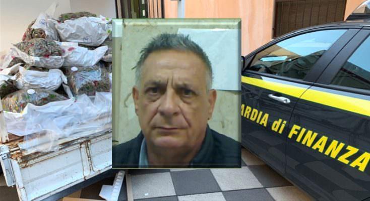 """Catania, trasportava in un congelatore 41 chili di marijuana """"Skunk"""": avrebbe fruttato circa un milione di euro"""