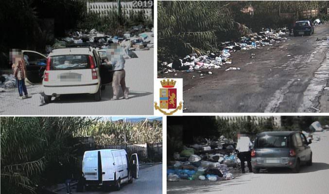 Strade come discariche, la polizia piazza le telecamere contro l'abbandono dei rifiuti: sanzioni per 14mila euro