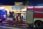 Catania, incendio in viale Vittorio Veneto: in fiamme negozio di oggettistica