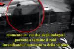 Incendia l'auto della ex con l'aiuto di 2 amici nel Catanese: scattano le misure cautelari – VIDEO