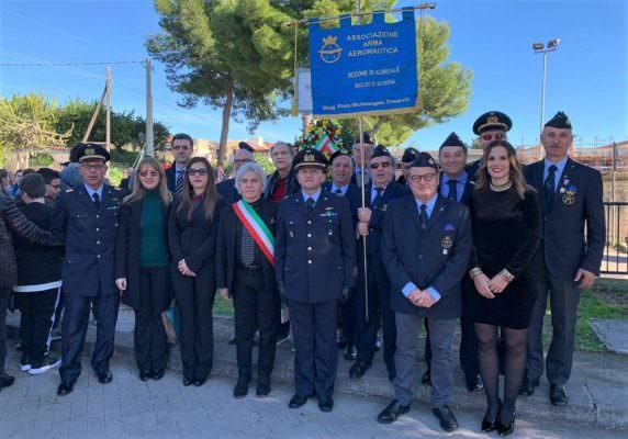 """""""Settimana della legalità"""" nel Catanese: anche l'Aeronautica Militare ha partecipato all'evento"""
