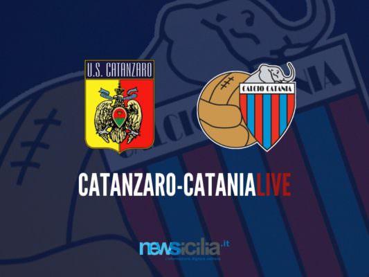 Catanzaro-Catania 3-0: Nicastro triplica sul finire del match – RIVIVI LA CRONACA