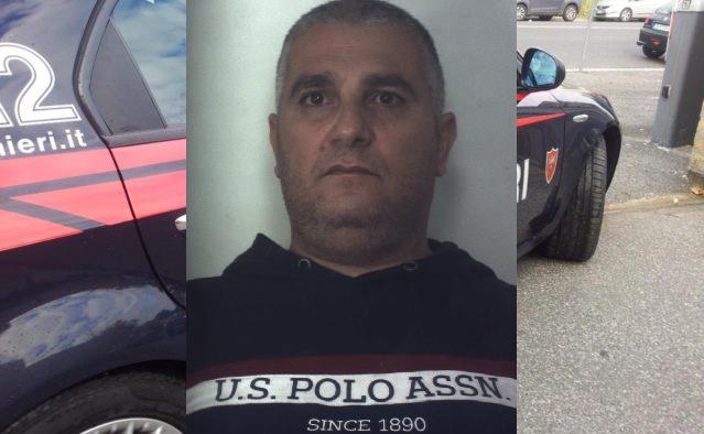 Pusher incastrato durante un controllo stradale, Giuseppe Di Blasi finisce in carcere