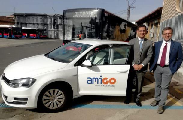 Catania, primo mese di Amigo: più uomini che donne utilizzano il servizio di car sharing