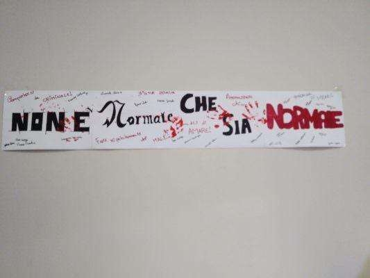 """""""Non è normale che sia normale"""", l'Istituto Carlo Gemmellaro di Catania contro la violenza sulle donne: """"Educhiamo al rispetto"""""""