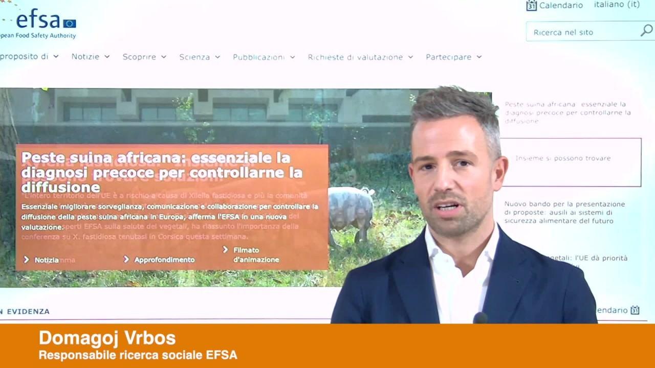 Eurobarometro EFSA sulla sicurezza alimentare