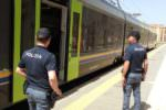 Stazioni ferroviarie fra Catania e Palermo: ecco il resoconto di 24 ore di controlli della polizia