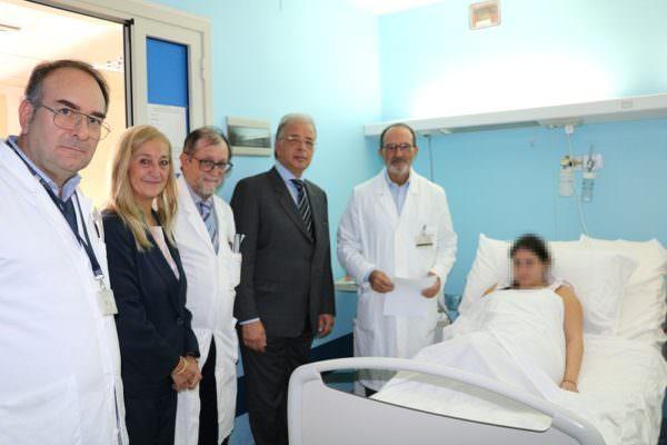 Vaccino antinfluenzale a letto: l'ospedale Cannizzaro promuove la tutela della salute in gravidanza