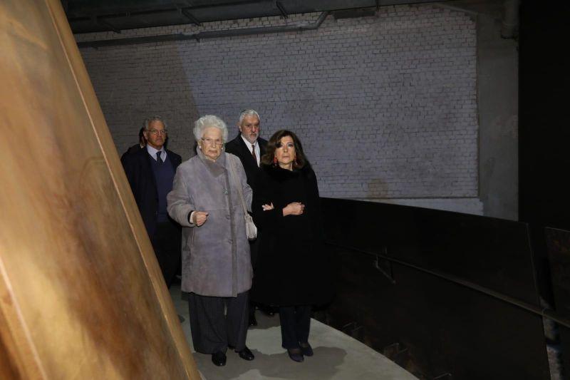 CASELLATI E SEGRE VISITANO IL MEMORIALE DELLA SHOAH