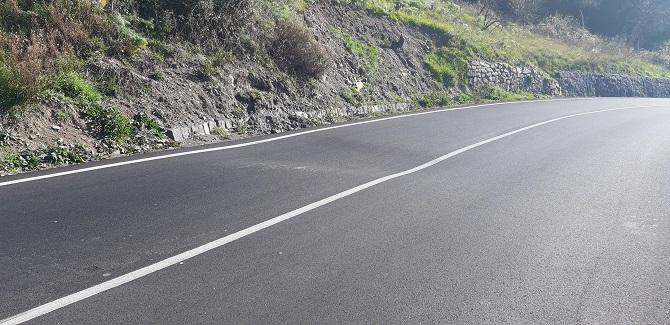 """Strada pericolosa nel Catanese, terrapieno rigonfiato e pericoloso avvallamento: """"Inviata richiesta d'intervento"""""""