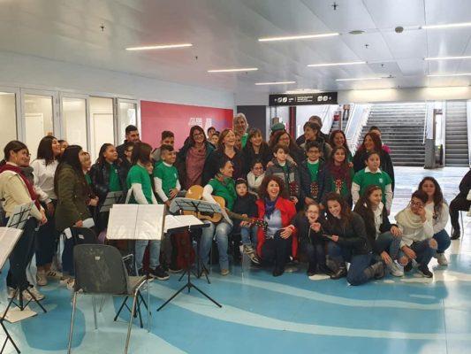"""""""Suono in metro"""", i ragazzi dell'I.C. """"Fontanarossa"""" di Catania si esibiscono nella stazione centrale"""