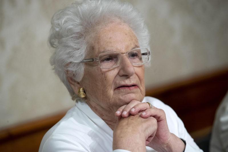 Liliana Segre cittadina onoraria di Trapani: decisione del consiglio comunale