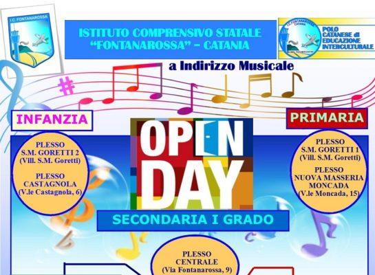 """Giornata Open Day all'Istituto Comprensivo """"Fontanarossa"""""""