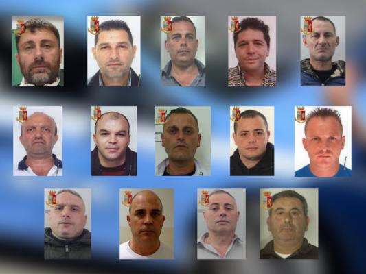 """Operazione """"Predominio"""", riorganizzano associazione mafiosa e seminano il terrore: 14 arresti – FOTO e VIDEO"""