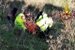 Anziano cade in un burrone: 79enne soccorso dai vigili del fuoco e ricoverato al Policlinico