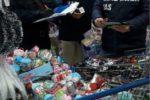 Pericolo incendi e per la salute dei bambini: sequestrati oltre 800 articoli tra addobbi e giocattoli