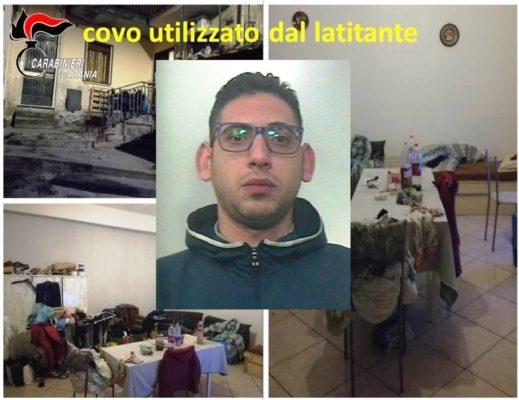 Ricercato da un anno per tentato omicidio: catturato il latitante paternese Giuseppe Reitano