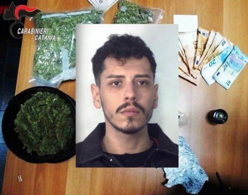 Catania, intervenuti per una lite scoprono un vicino di casa con ecstasy e cocaina: scatta l'arresto