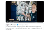"""Luca Parmitano, conversazione dallo spazio con Paul McCartney: """"Posso farti un caffè?"""""""