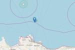Trema la costa settentrionale della Sicilia, sisma registrato a poca distanza dalla terraferma