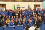 LA FIPSAS PREMIA AL CONI I CAMPIONI 2019