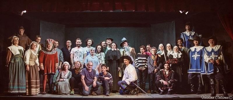 L'immortale amore di Cyrano de Bergerac ritorna in scena con il Teatro Stabile di Mascalucia