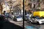 Catania, scontro tra auto e moto al viale Vittorio Veneto: traffico in tilt, notevoli rallentamenti