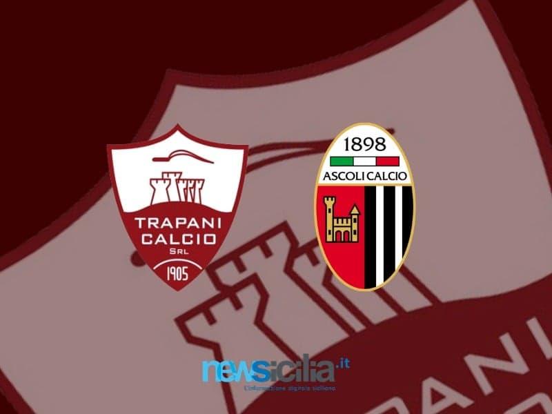 Al Provinciale il Trapani vince con un uomo in meno: Ascoli travolto 3-1