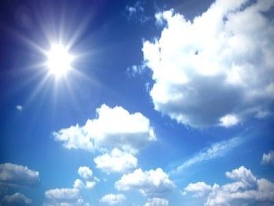 Dopo i temporali torna il bel tempo sulla Sicilia: temperature fino a 34°C nel Catanese e nel Siracusano