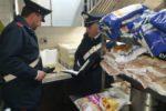 """Controlli """"fatali"""" per un ristorante del centro, chiuso immediatamente: carenze igienico sanitarie, sequestrati 75 chili di cibo"""