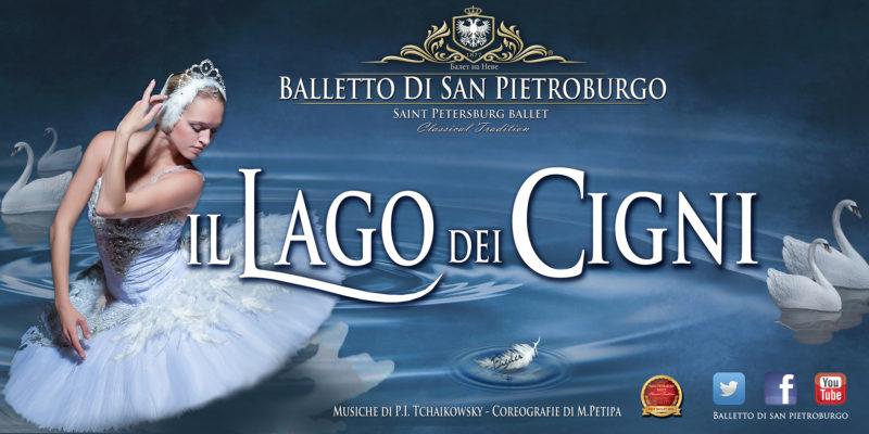 Il Lago dei Cigni al Teatro Metropolitan di Catania interpretato dal Balletto di San Pietroburgo
